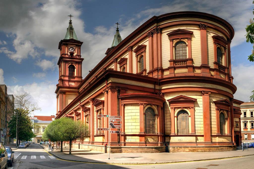 Katedrála před celkovou rekonstrukcí