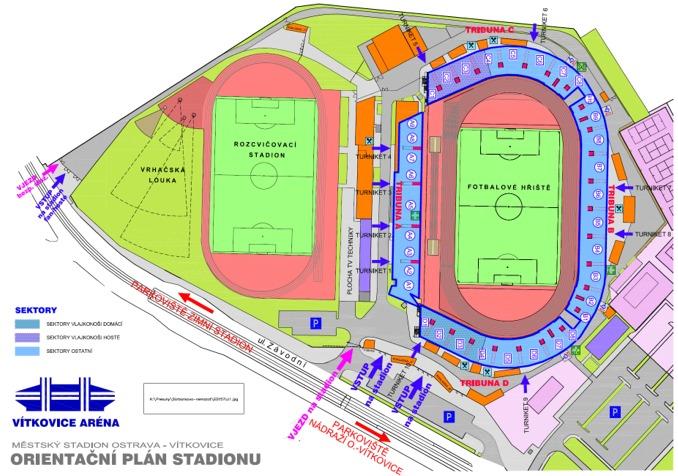 Městský stadion v Ostravě to je moderní sportovní areál, pro fotbal, lehkou atletiku a další sporty. Domácí stadion FC VÍTKOVICE a FC Baník Ostrava, místo konání Zlaté tretry, dějiště ME v atletice do 23 let.