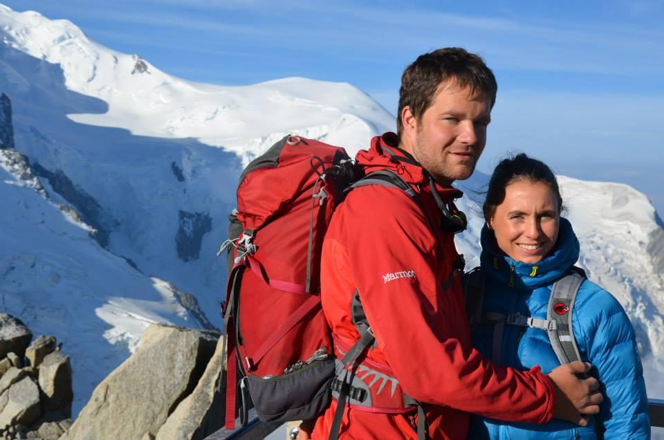 Jiří s přítelkyní Terezkou rádi cestují a to jak na vrcholky hor, tak i do tropických krajin
